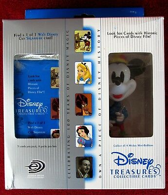 Disney Treasures In Box-Mickey Mouse The Tailor/Mini-Bobber & Collectible Cards