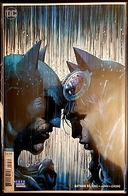 Batman #50 Jim Lee Color Variant Wedding Catwoman Dc Comics