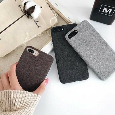 Pour iPhone 6 6s 7 8 P X Contraste granit brillant Couleur dur Coque Cover Case