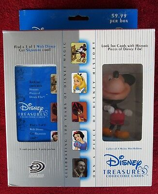 Disney Treasures In Box-Mickey Mouse Millennium/Mini-Bobber-Collectible Cards
