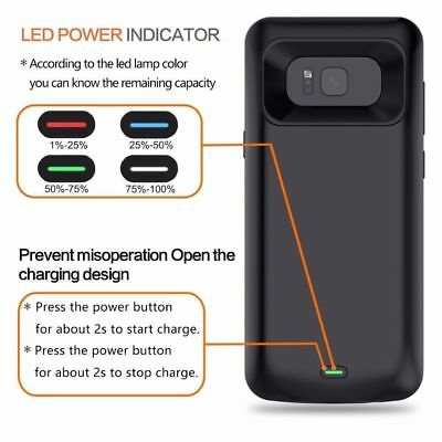 External Battery Case Power Bank Pack Cover for Samsung Galaxy Note 9 S8 S9 Plus