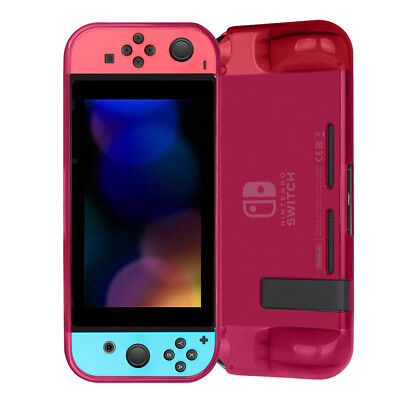 Protective TPU Case Cover for Nintendo Switch with Built-in Padded Hand Grips