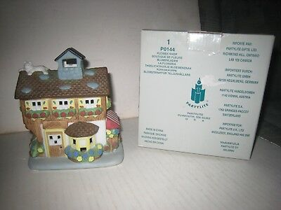 Vintage Partylite Sunbeam Sconce Tealight Candle Holder W Box 0481
