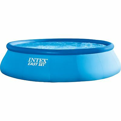 Intex Easy Set Pools 128142GN, Ø 396x84 cm, Schwimmbad, hellblau