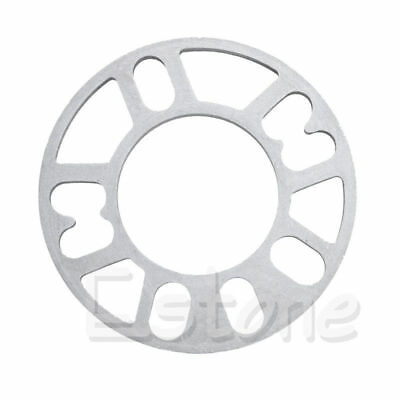 New 10MM Universal Alloy Aluminum Wheel Spacers Shims Plate 4/5 Stud Fit WS-100