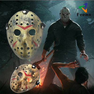 Cos Halloween Party Jason Voorhees Friday The 13th Horror Movie Hockey Mask