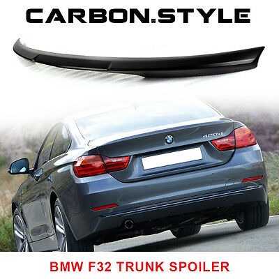 ABS BMW F32 4-Series Coupe 2D M4 Type Trunk Spoiler Wing Unpainted 2016