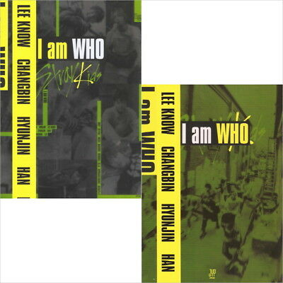 Stray Kids -I Am Who 2 Type CD+Photobook+QR Photocard New