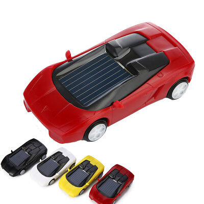 Solar Powered Mini Car Racer Toy For Kids Educational Gadget Fashion Toy Gift