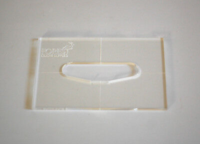 Single Coil Pickup Acrilic Routing Template For Stratocaster