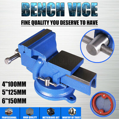 "4''5""6"" Inch Mechanic Workshop Table Bench Vice Heavy Duty Steel Grip Clamp NEW"