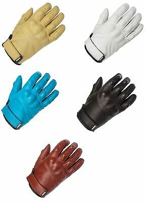 Spada Wyatt Ladies Leather Motorcycle Gloves Motorbike Bike Womens