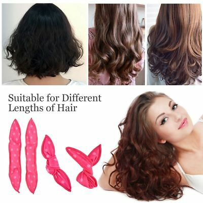 """The Sleep Styler For Long Hair Curler 30 Rollers Curlers 8"""" Baby Pink For Girls"""