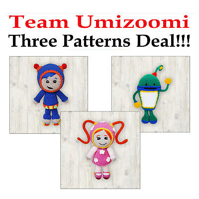 Three Patterns Deal - Milli, Bot and Geo - Team Umizoomi PDF (Read Description)