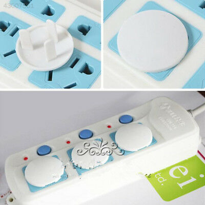 D48A Set 50X Power Kid Socket Cover Baby Proof Protector Outlet Point Plug
