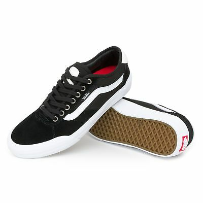 Vans shoes Chima Pro 2 Black White USA SIZE Skateboard Sneakers