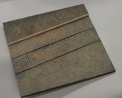 1/35 Scale Diorama Base No.12 - 235mm x 230mm Large street section