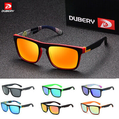 DUBERY Polarized Sunglasses Women/Men Square Cycling Sport Driving Fishing LOT