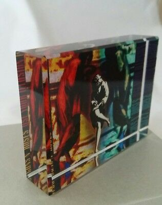 Guns n roses crystal photo 8x6cm gift box included