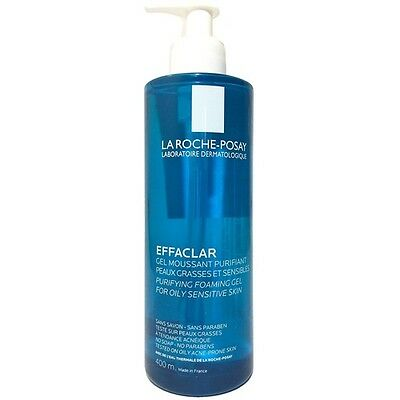 Freepost La Roche Posay Effaclar Foaming Gel 400ml oily/sensitive skin UK Stock