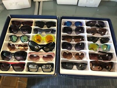 Job Lot 24 pairs of assorted sunglasses - Car Boot - Resale - Wholesale - REF146