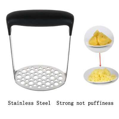 Stainless Potato Masher Ricer Puree Fruit Vegetable Juicer Press Maker 2018 AU
