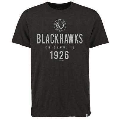 Chicago Blackhawks '47 NHL Origin Scrum T-Shirt - Black