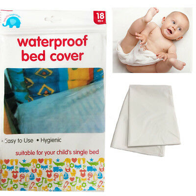 Waterproof Bed Cover Baby Protector Toddler Mattress Foam Crip Wetting Sheet Fit