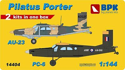 BPK 14404 Pilatus AU-23 and PC-6 Porter (2in1 Kit)