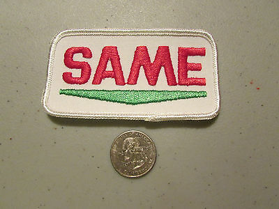 Brand New Unused Vintage Same Patch Great For Hat Or Jacket Free Shipping !