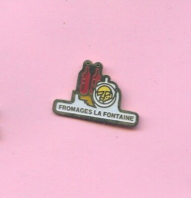 RARE  Pins Fromage Fromages La Fontaine G493