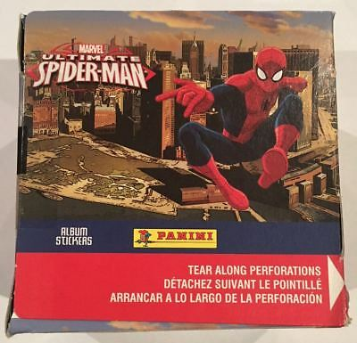 Panini Marvel Ultimate Spider-Man Stickers Box  FREE POST