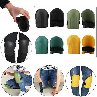 1pair Soft Foam Kneepads Flexible Protective Sport Work Gardening Builder 4Color