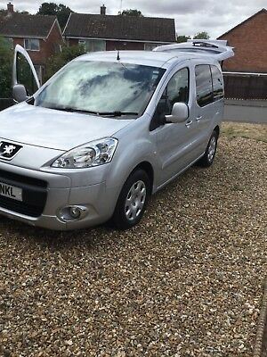 Peugeot partner tepee wheelchair accessible vehicle euro 5 and coc documents