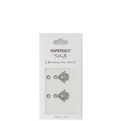 Temporary Tattoos PAPERSELF Tatuaggio Donna Rosy and Daisy - Ring 2 pz (5.08 cm