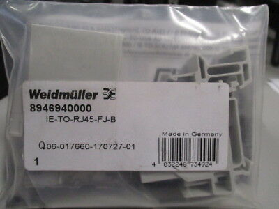 Weidmuller Mounting Rail Outlet