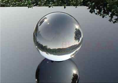 Asian Rare Clear Magic Crystal Healing Ball Sphere 40mm+Stand