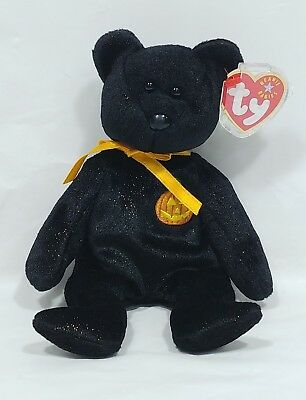 2001 TY Beanie Baby Haunt Bear - NEW with Tag