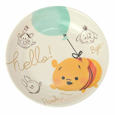 NEW Disney Store Japan Winnie The Pooh Friends Melamine Dish Plate Tsum