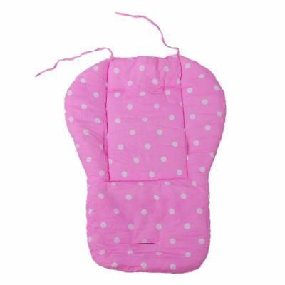 Thick Baby Infant Stroller Car Seat Pushchair Cushion Cotton Cover Mat Pink I vf