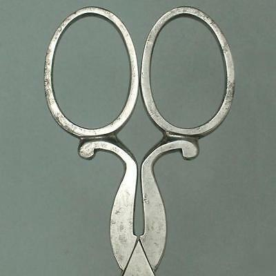 Antique French Steel Embroidery Scissors * Circa 1890s