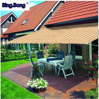 Sun shade netting HDPE General network mesh for courtyard / balcony / doors and