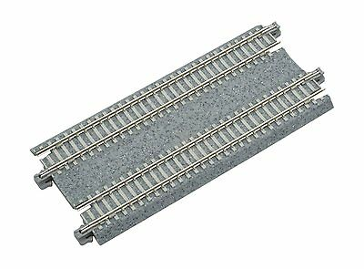 "Kato N Scale Concrete Tie Double Straight Track 124mm 4 7/8"" (2 pc) New 20-023"