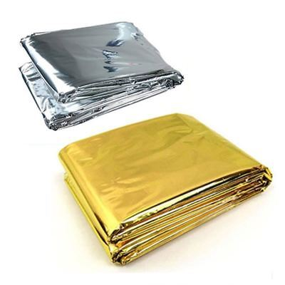 Outdoor Camping Waterproof Emergency Rescue Survival Blanket Life-saving Foil Th