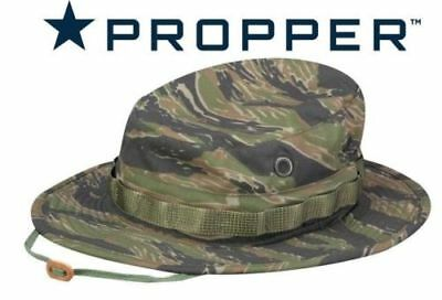 NEW  Tiger Stripe  Vietnam pattern BOONIE HAT  ,  Large Propper  .