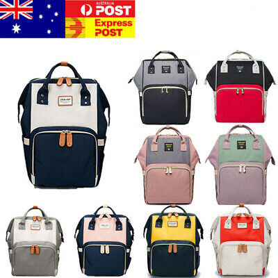 Multifunctional DOKOCLUB Large Baby Diaper Backpack Mummy Nappy Changing Bag