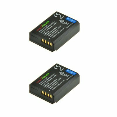 2x ChiliPower LP-E10 Batteria (1150mAh) per Canon EOS 1100D, EOS Rebel (b5p)