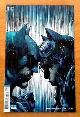 Batman 50 Cover C Variant Jim Lee Cover 1st Print DC 2018 NM