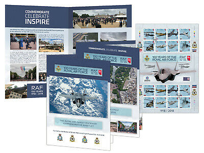 100 Years of the Royal Air Force - Special Flypast Commemorative Sheetlet (WB44)