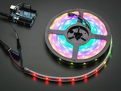 Adafruit NeoPixel Digital RGB LED Strip - Black 30 LED - 1m